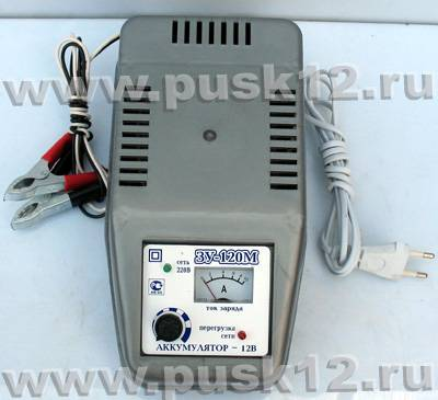 автоматическое зарядное устройство для автомобильного аккумулятора схема